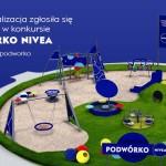 Podwórko NIVEA - plac zabaw przy ul. Luzara? 5