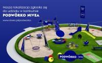 Podwórko NIVEA - plac zabaw przy ul. Luzara? 1