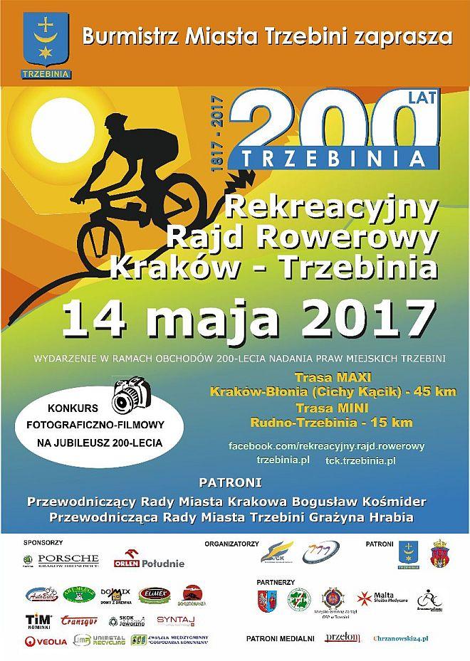 14 maja: rekreacyjny rajd rowerowy 1
