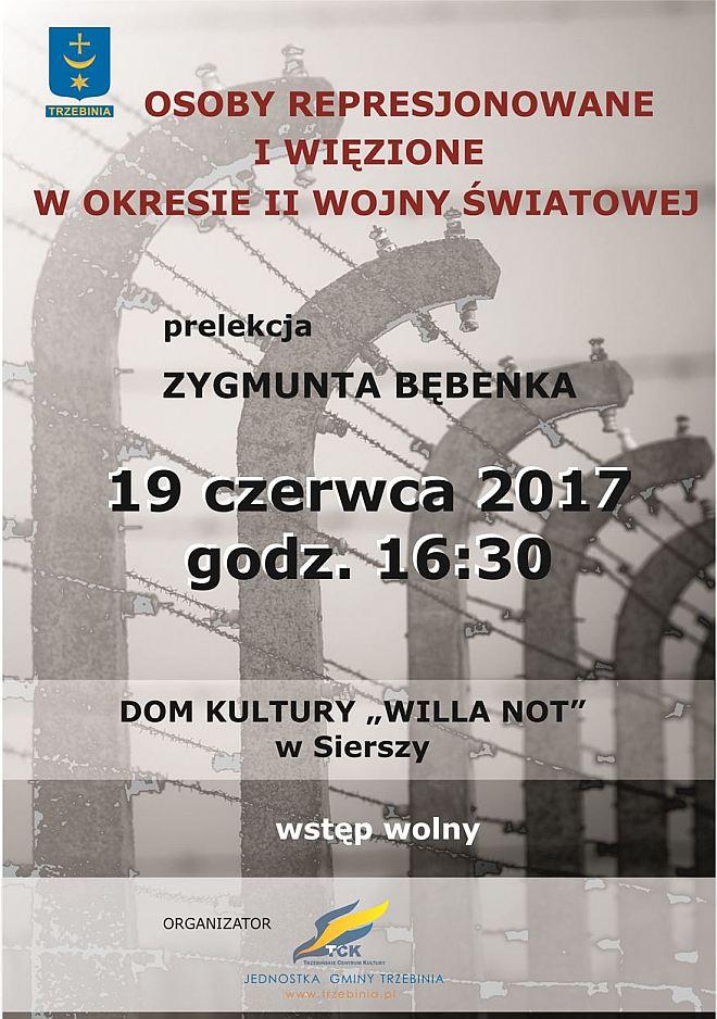"""Prelekcja """"Osoby represjonowane i więzione w okresie II wojny światowej"""" 3"""