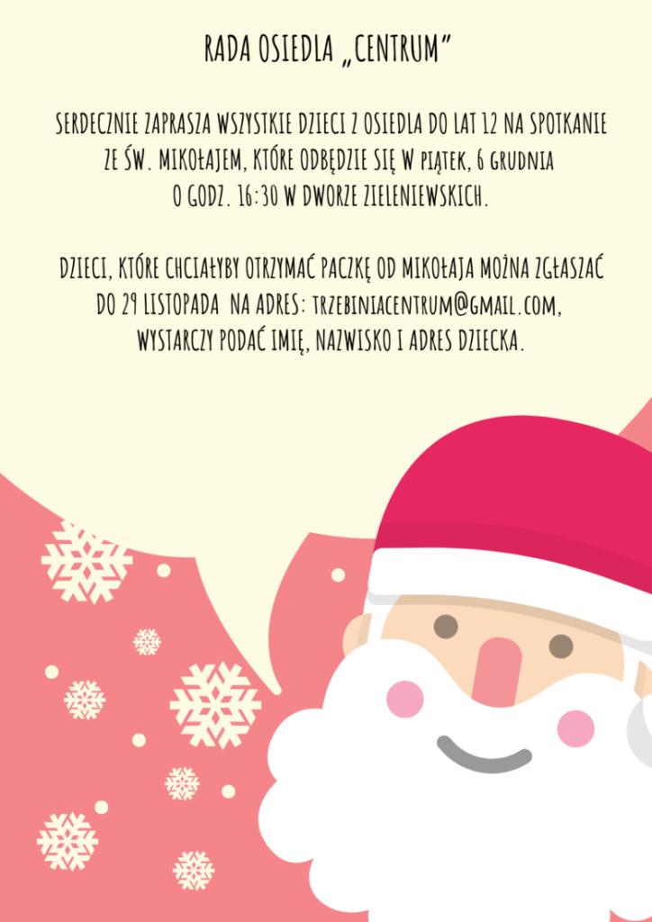 Spotkanie ze Św. Mikołajem 6 grudnia 1